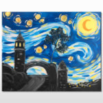Mt. Rubidoux Night Painting Event