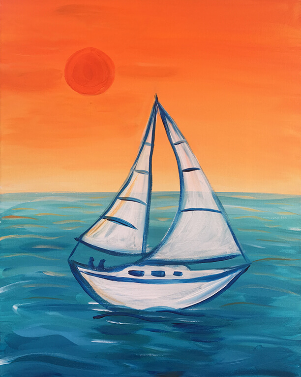 Smooth Sailing Painting Party