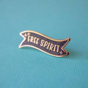 Free Spirit Enamel Pin