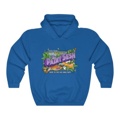 High From The Paint Sesh Hooded Sweatshirt (Unisex)