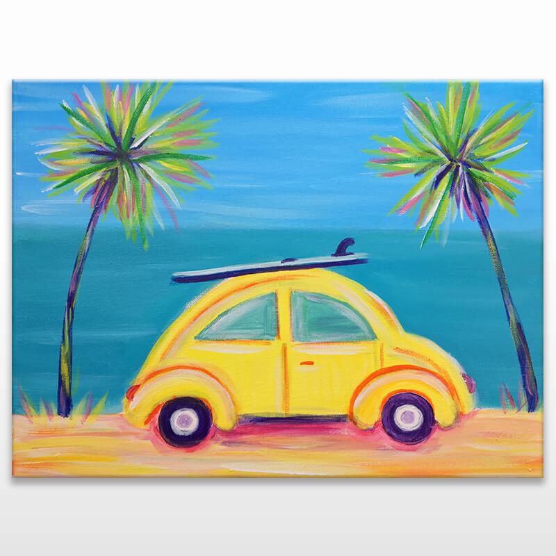 Beach Bug Painting Class