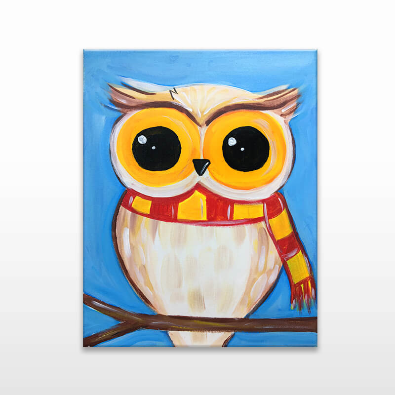 Magic Owl Painting Event