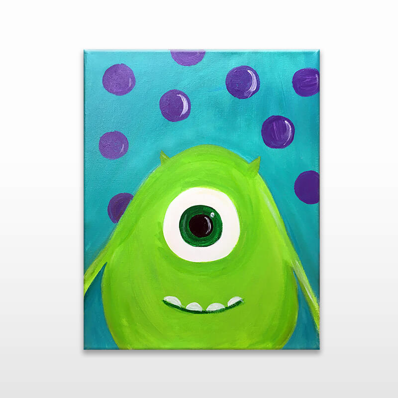 Monster Friends Virtual Painting Event