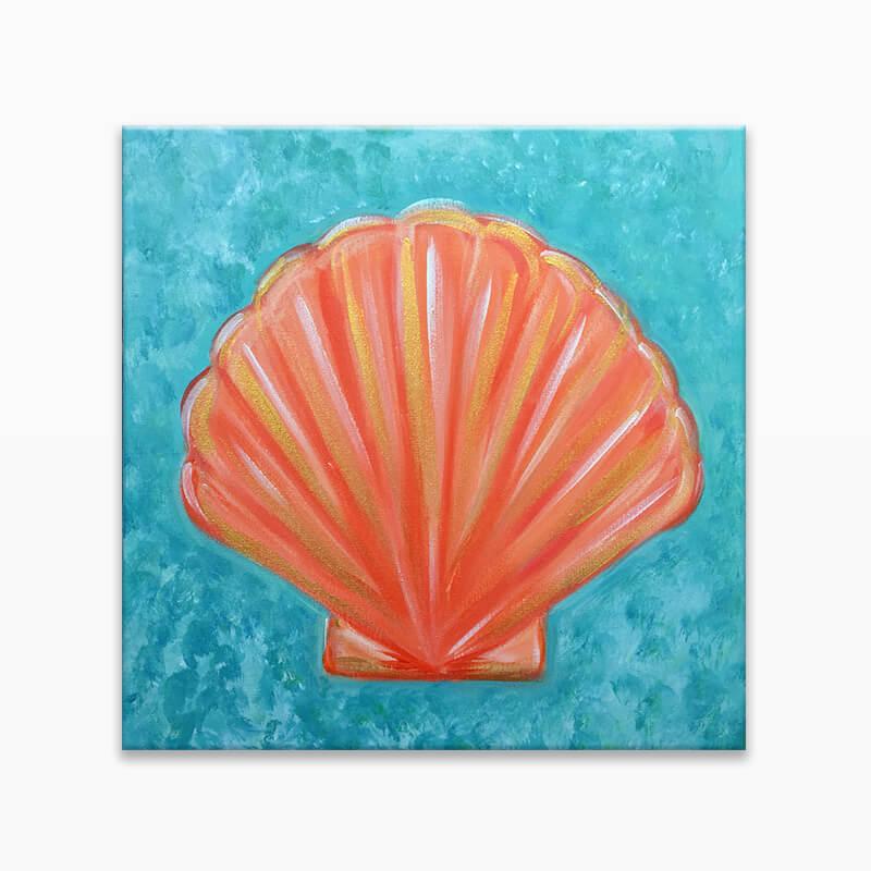 Seashell Virtual Painting Event