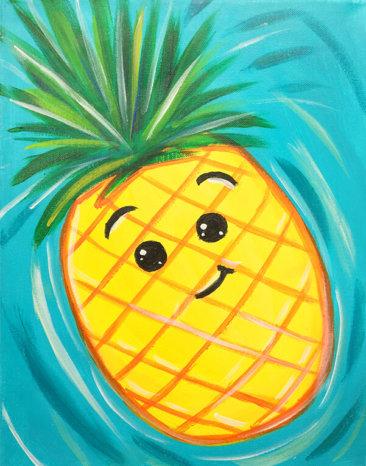 Happy Pineapple