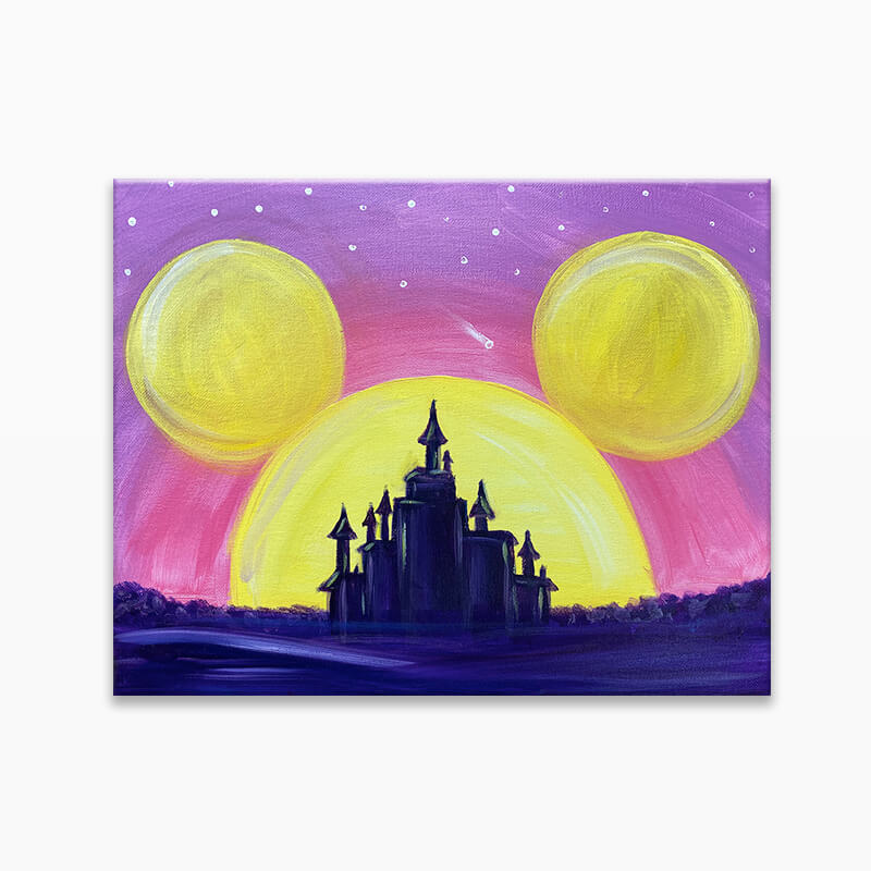 Magic Castle Virtual Painting Event