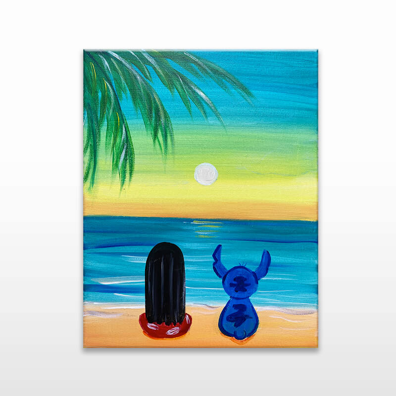 Ohana Means Family Painting Event