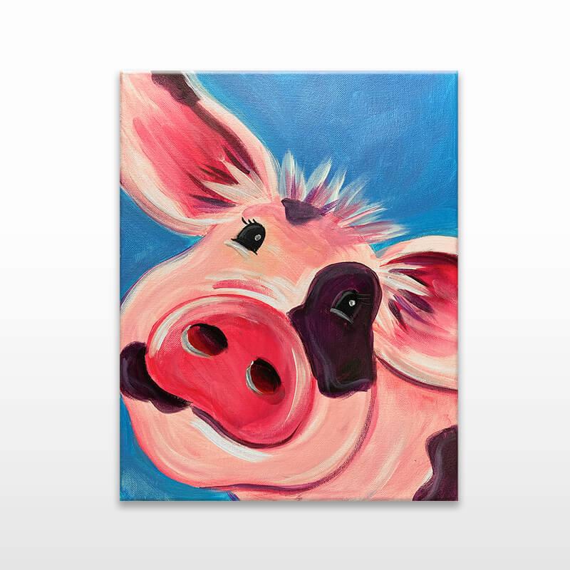 Piggy Smalls Virtual Painting Event