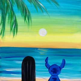 Ohana Means Family Painting Class