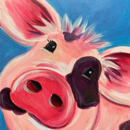 Piggy Smalls Acrylic Painting Class