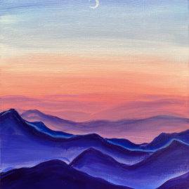 Serenity Acrylic Painting