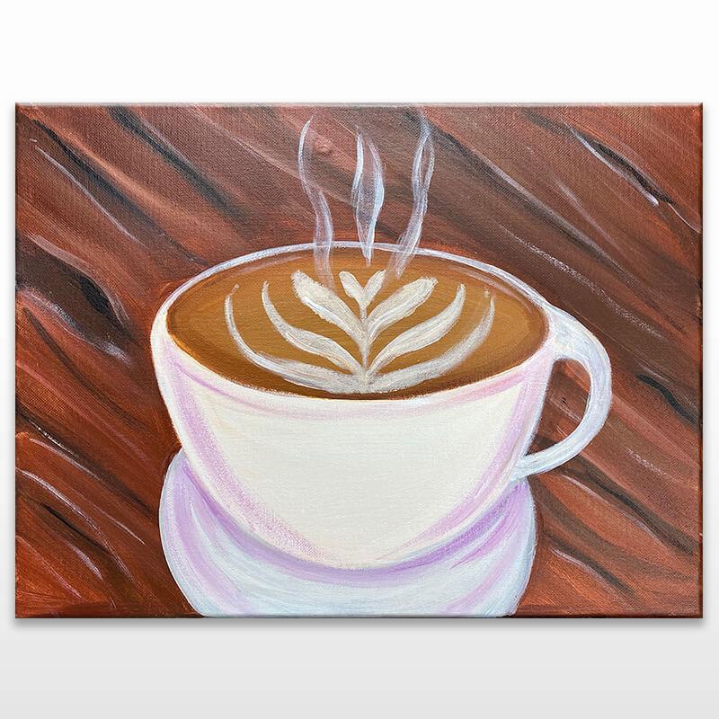 Café Latte Painting Class