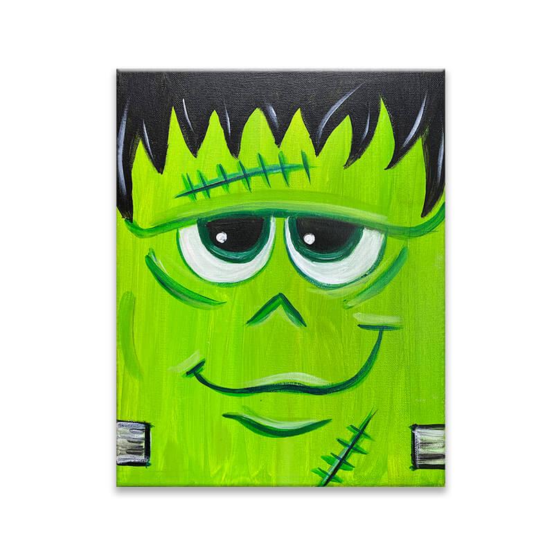 Frankenstein Painting Class