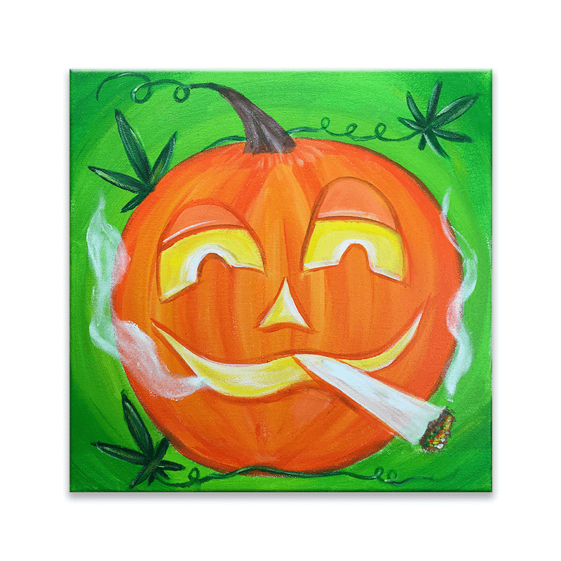 Halloweed Paint & Puff Event
