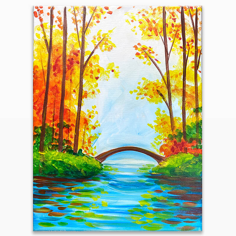 Scenic Season Painting Class