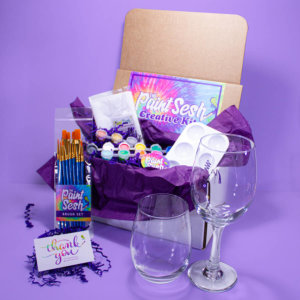 Wine Glass Painting Kit