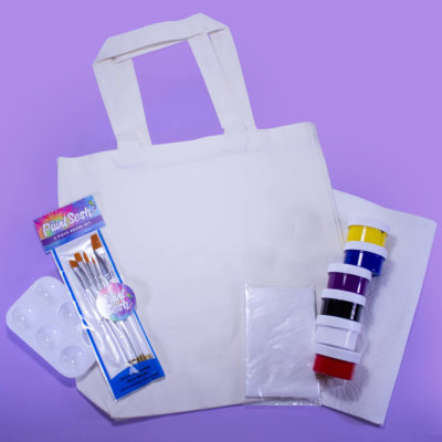 Paint Your Own Tote Bag Kit