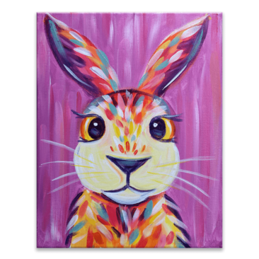 Colorful Cottontail Virtual Painting Event