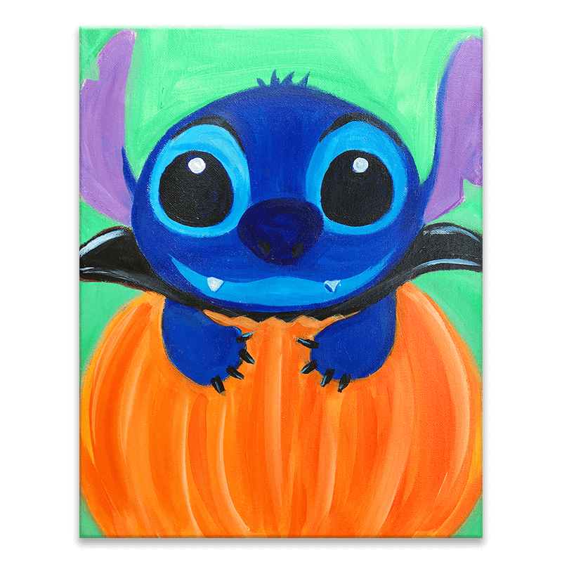 Count Stitchula Painting Class