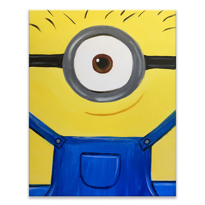 One In A Minion Painting Class