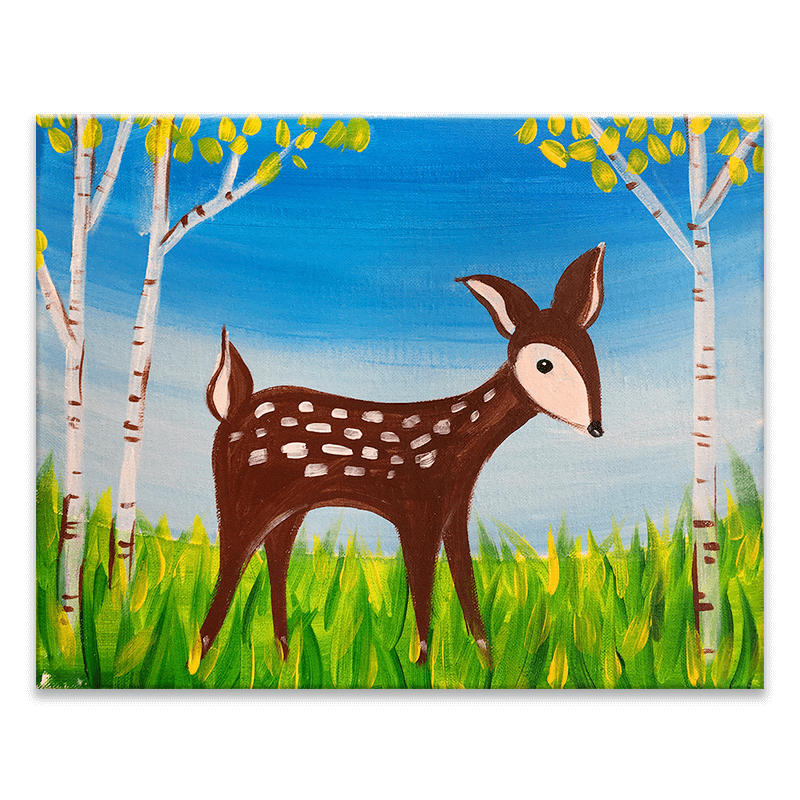Fawnd Of You Virtual Painting Class