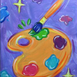 Creative Magic Painting Class