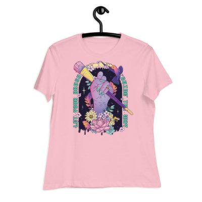 Creative Magic Women's Relaxed T-Shirt