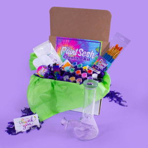 Paint and Puff Kit - Paint Sesh in a Box
