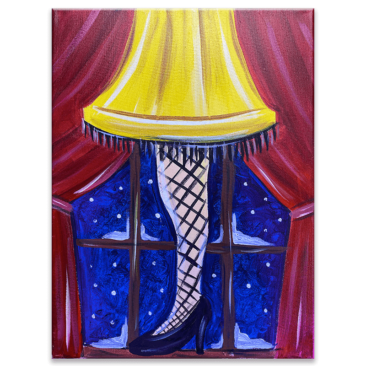 A Christmas Story Virtual Painting Event