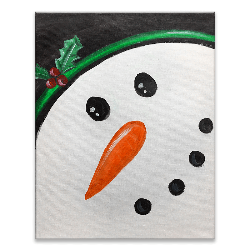 Frosty The Snowman Virtual Painting Event