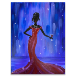 Pretty Woman Virtual Painting Class