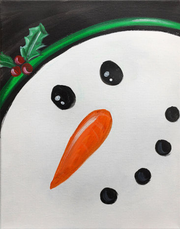 Frosty The Snowman Painting Party