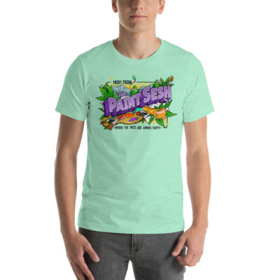 High From The Paint Sesh Short Sleeve Tee (Unisex)