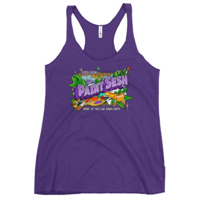 High From The Paint Sesh Women's Racerback Tank