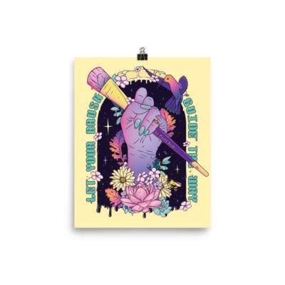 Creative Magic Illustration Poster
