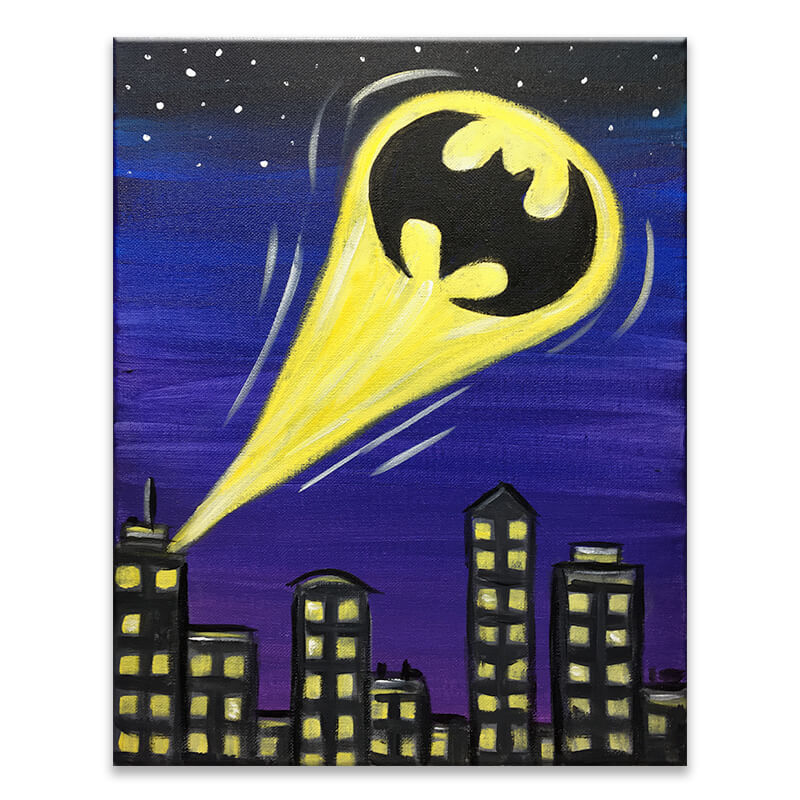 Bad Signal - Batman Virtual Painting Class