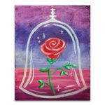 Enchanted Rose Virtual Painting Class