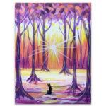 Winter Woodlands Virtual Painting Class