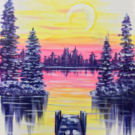 Dockside Frost Painting Party