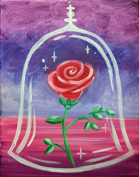 Enchanted Rose Painting Party