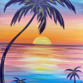 Sea Serenity Painting Party