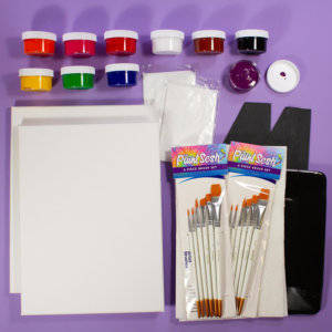 Paint at Home Kit for Two – (The Date Night Kit)
