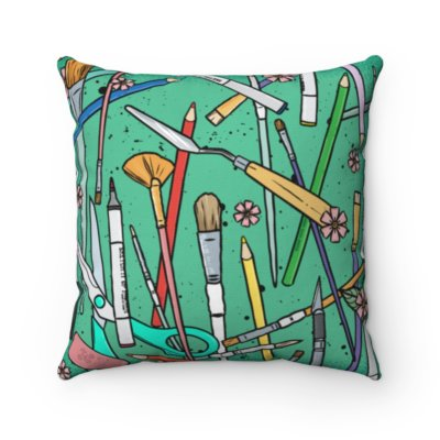 Stay Creative Square Pillow