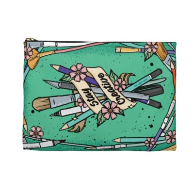 Stay Creative Accessory Pouch