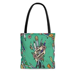 Stay Creative Tote Bag