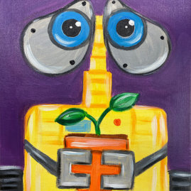 Wall-E Painting Party