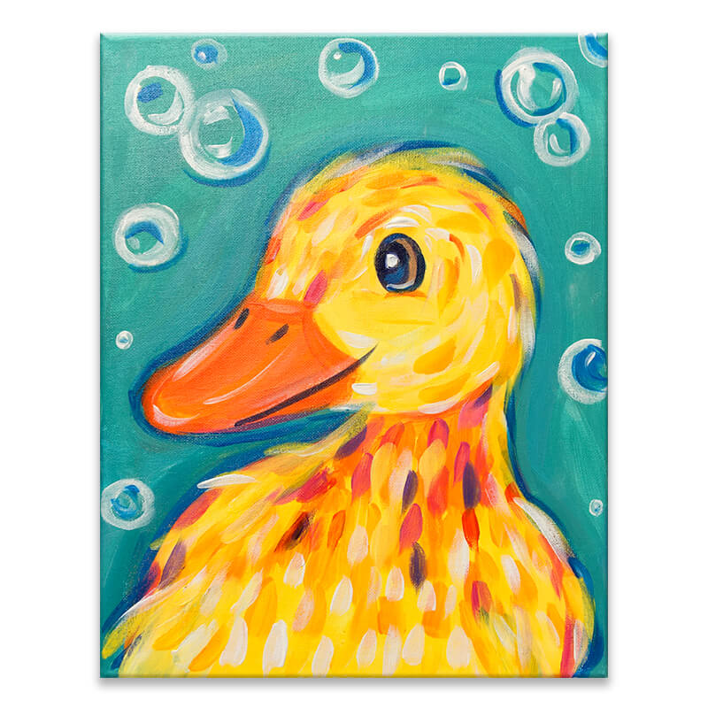 Little Duckling Virtual Painting Event