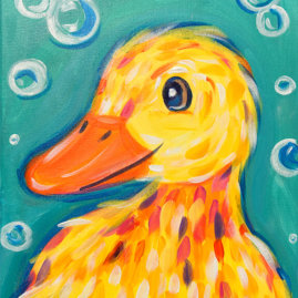 Little Duckling Painting Party