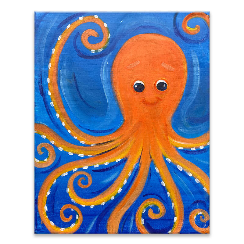 Octo Sea Virtual Painting Class