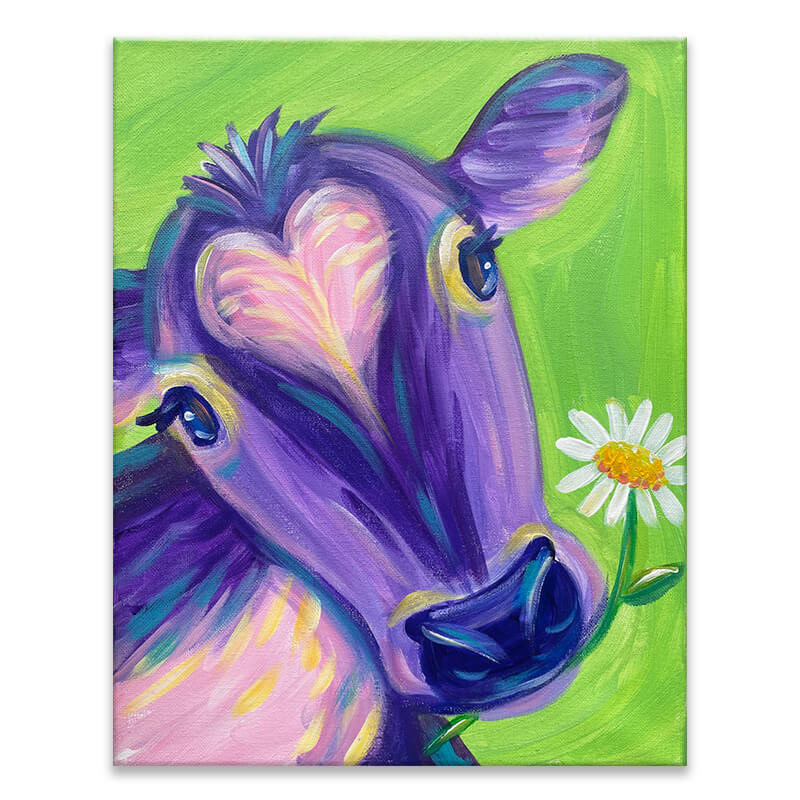 Pretty Cow Painting Class